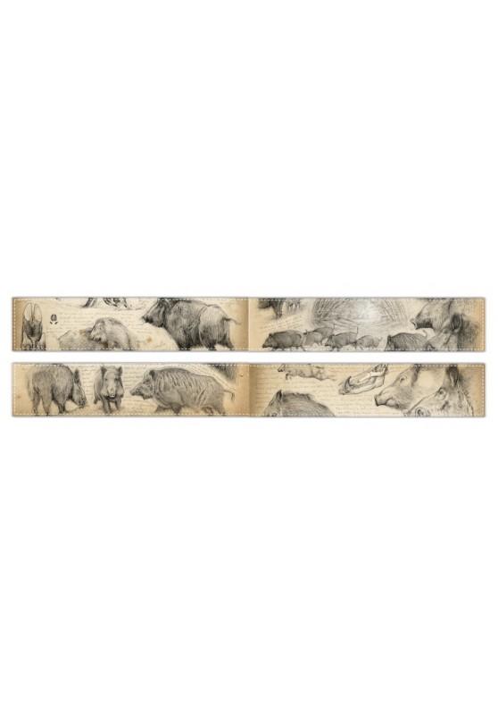 Marcello-art : Écharpe polaire Écharpe polaire 58 - 272 Sanglier