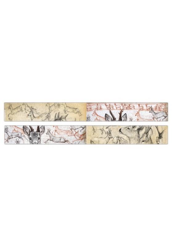 Marcello-art : Écharpe polaire Écharpe polaire 110 - 280 Chevreuil