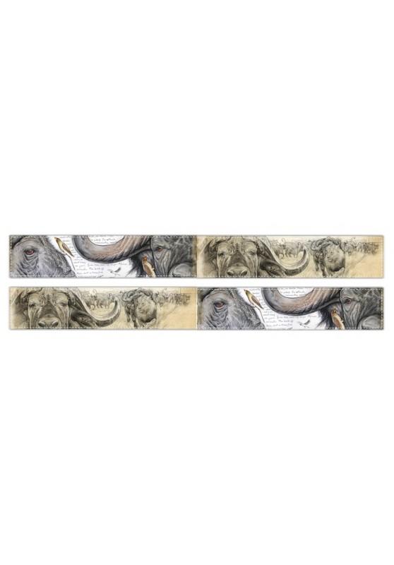 Marcello-art : Écharpe polaire Écharpe polaire 227 - 274 Pic bœuf - Buffle Caffer