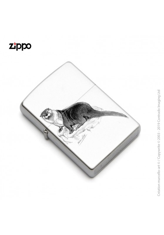 Marcello-art: Decoration accessoiries Zippo 32 otter