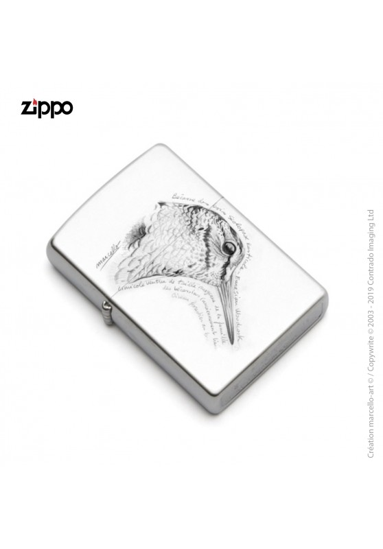 Marcello-art: Decoration accessoiries Zippo 50 snipe head