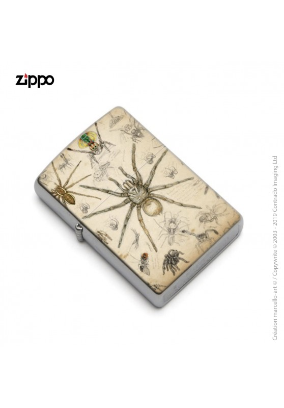 Marcello-art: Decoration accessoiries Zippo 82 Arachna