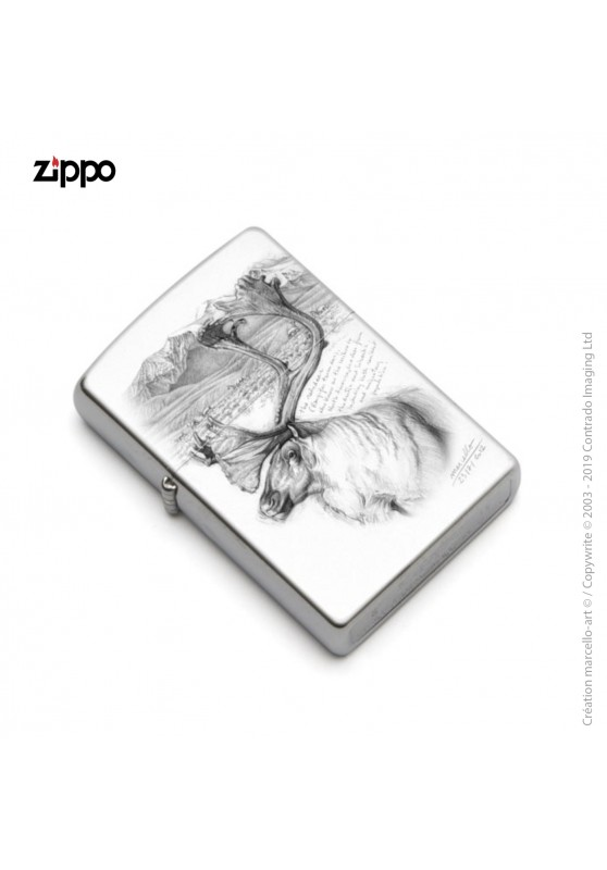 Marcello-art: Decoration accessoiries Zippo 190 caribou