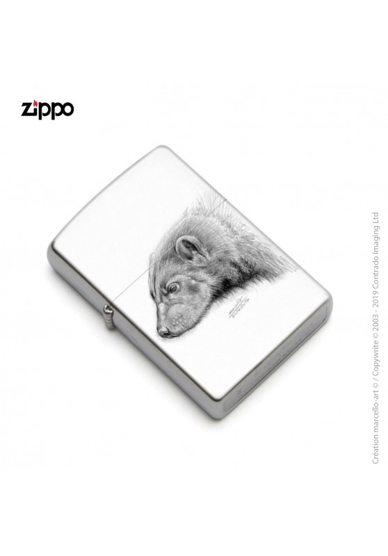 Marcello-art: Decoration accessoiries Zippo 257 wolverine