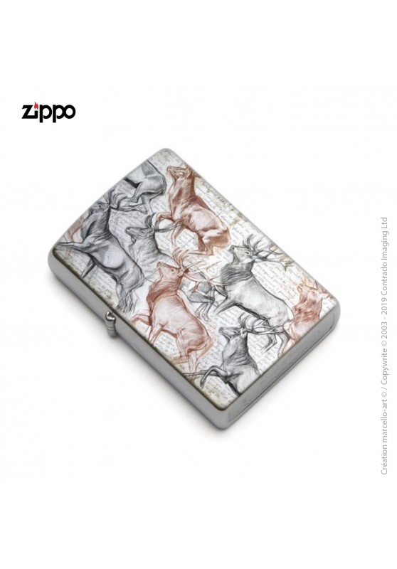 Marcello-art: Decoration accessoiries Zippo 297 The last herd