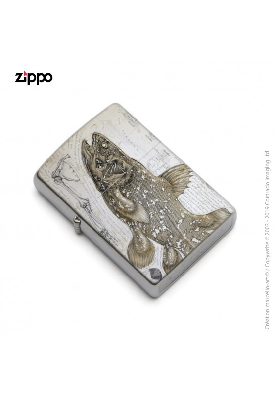 Marcello-art : Accessoires de décoration Zippo 346 Latimeria chalumnae