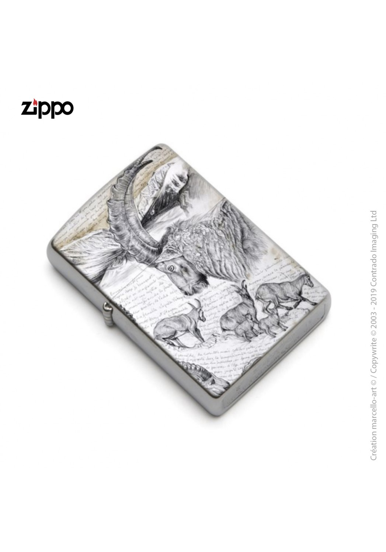 Marcello-art: Decoration accessoiries Zippo 348 Alpine Ibex