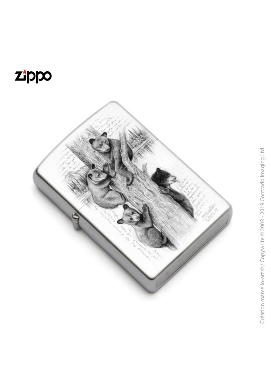 Marcello-art: Decoration accessoiries Zippo 382 little bears