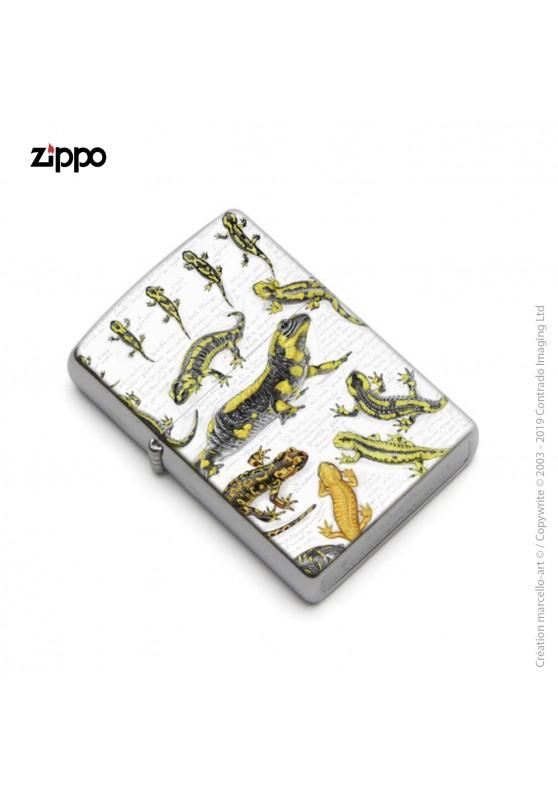 Marcello-art : Accessoires de décoration Zippo 383 A salamandre