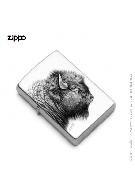 Marcello-art : Accessoires de décoration Zippo 390 bison