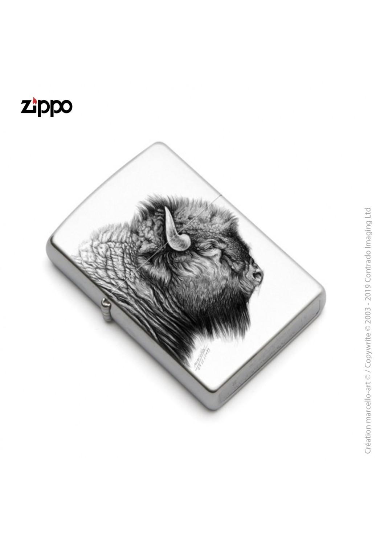 Marcello-art: Decoration accessoiries Zippo 390 American buffalo