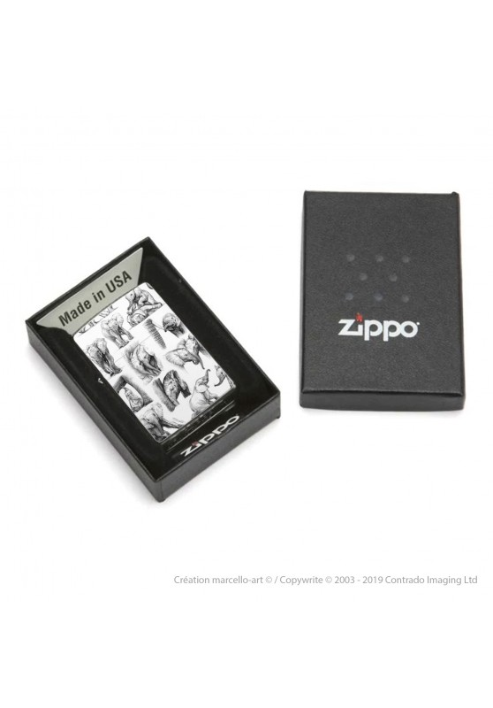 Marcello-art: Decoration accessoiries Zippo 392 baby elephant