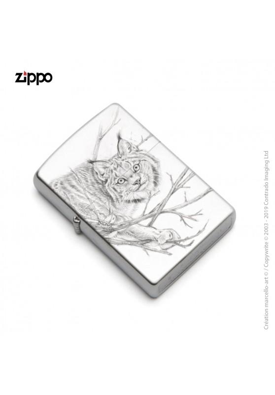 Marcello-art : Accessoires de décoration Zippo 393 lynx