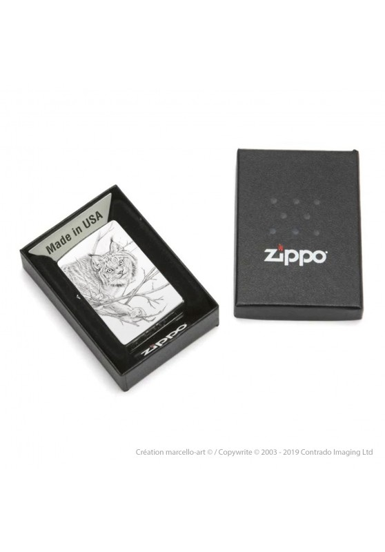 Marcello-art: Decoration accessoiries Zippo 393 lynx