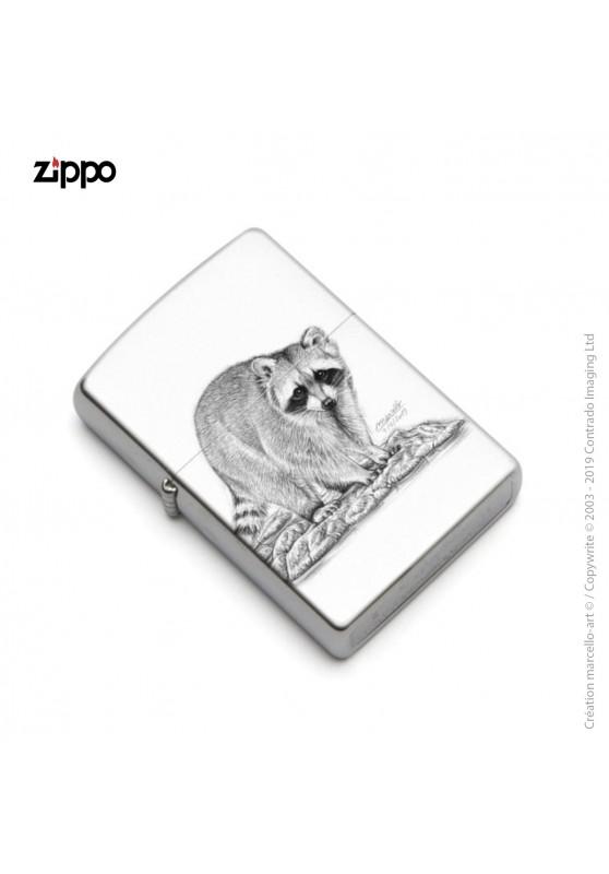 Marcello-art : Accessoires de décoration Zippo 393 raton laveur
