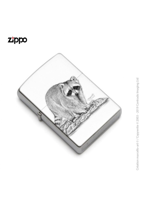 Marcello-art: Decoration accessoiries Zippo 393 raccoon