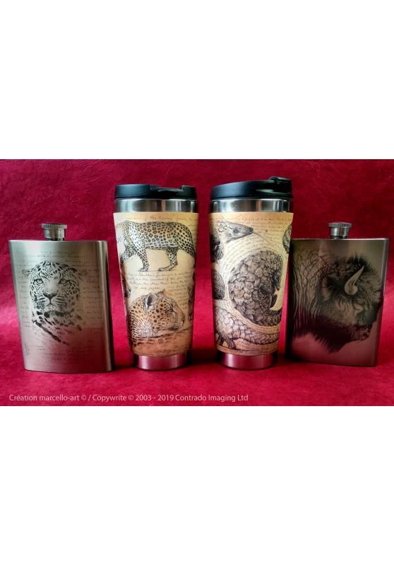 Marcello-art : Accessoires de décoration Mug thermos 338 Malaika