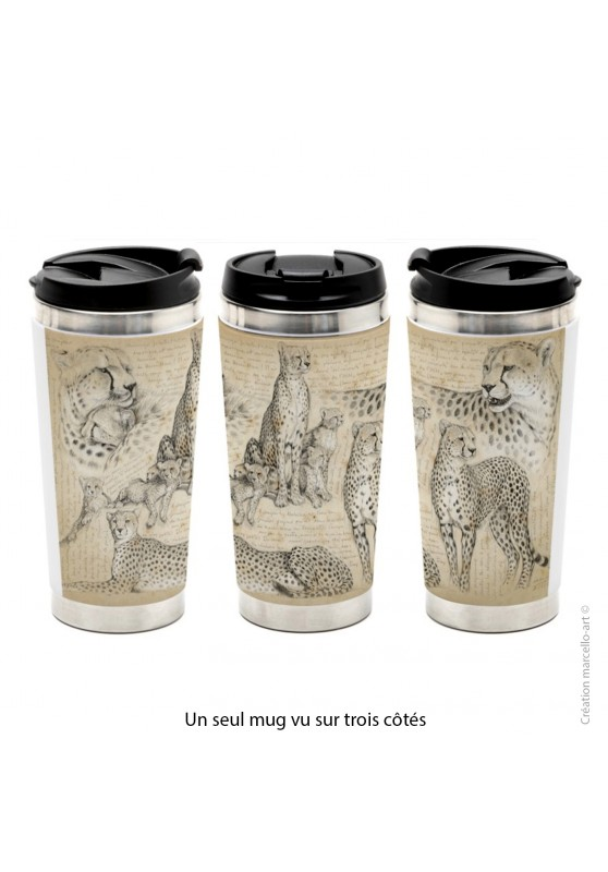 Marcello-art: Decoration accessoiries Thermos mug 338 Malaika