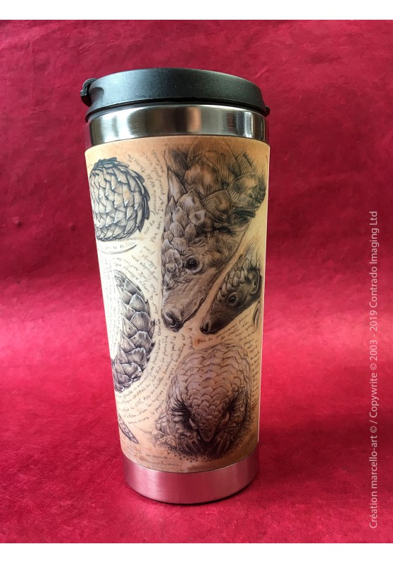 Marcello-art : Accessoires de décoration Mug thermos 398 Martin pêcheur