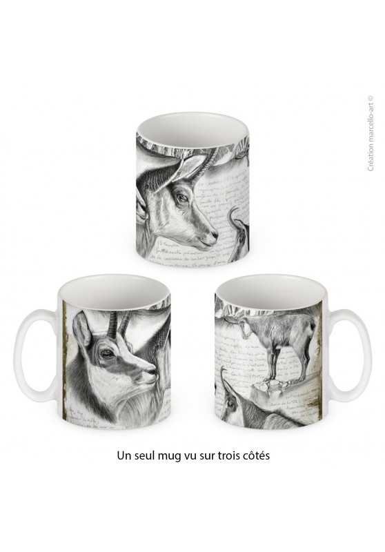 Marcello-art: Decoration accessoiries Porcelain mug 349 chamois