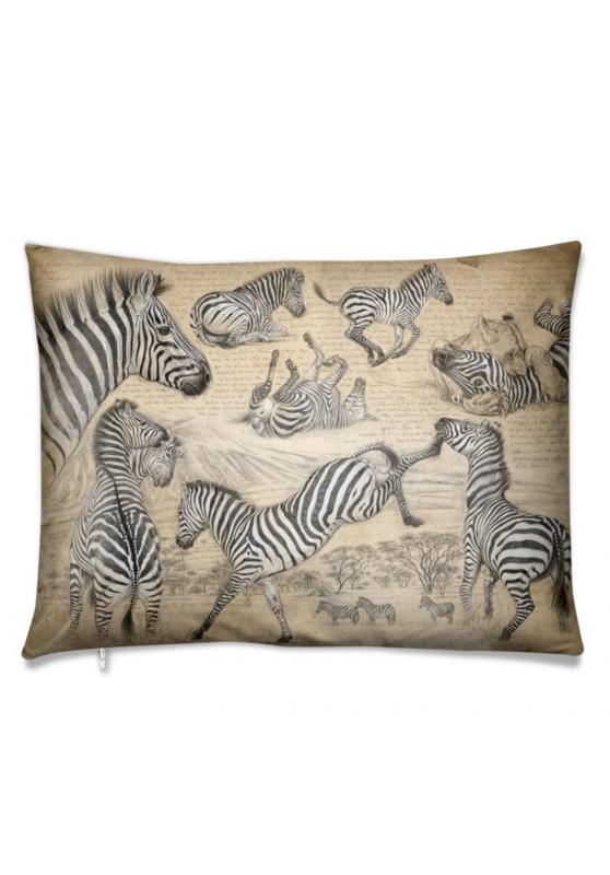 Marcello-art: Fashion accessory Cushion 403 Equus Quagga full color