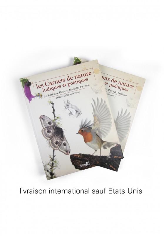 Marcello-art : Livres 2 livres Les Carnets de Nature Ludiques et Poétiques livraison international