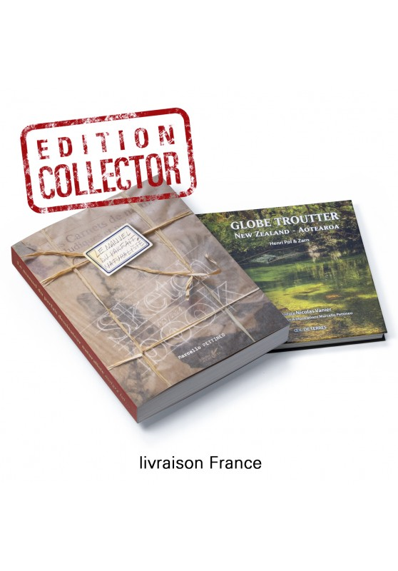 Marcello-art: Books Duo The Manual collector edition & Globe troutter