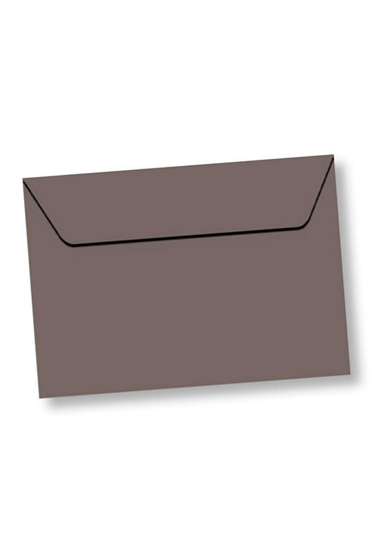 Marcello-art : Cartes de faire part Enveloppe rectangle A5 velin 162x229 mm couleur taupe