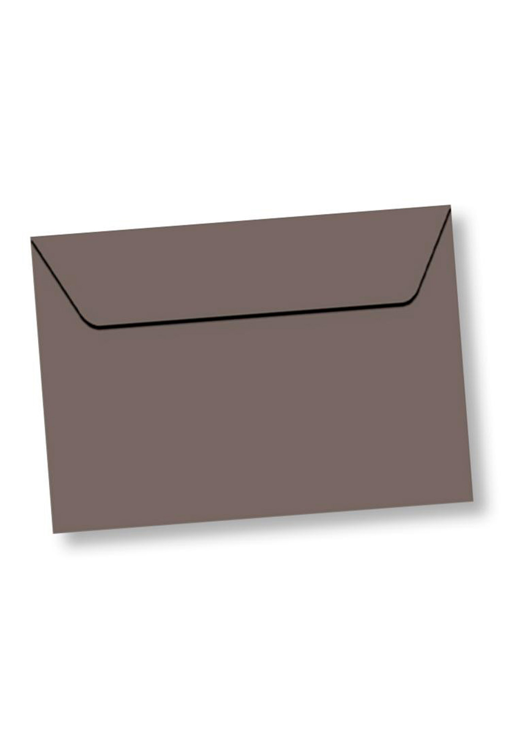 Marcello-art: Wish Card Rectangle envelope A5 velin 162x229 mm color taupe