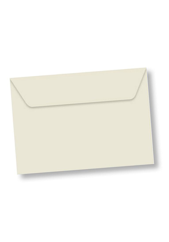 Marcello-art: Wish Card Rectangle envelope A5 velin 162x229 mm color white