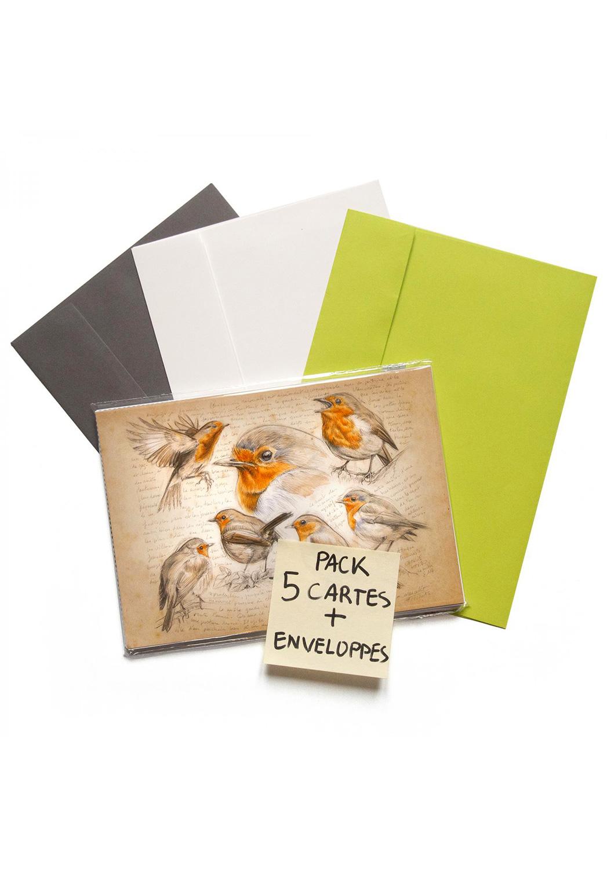 Marcello-art: Wish Card 5 cards + envelopes