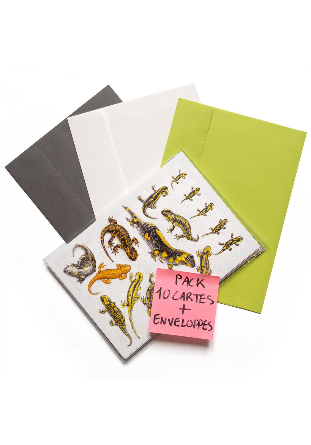 Marcello-art: Wish Card 10 cards + envelopes