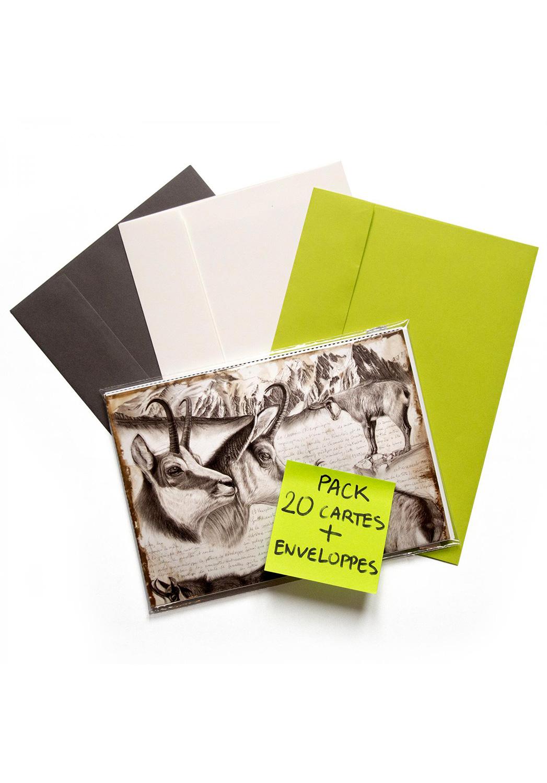 Marcello-art : Cartes de faire part 20 cartes faire part + enveloppes