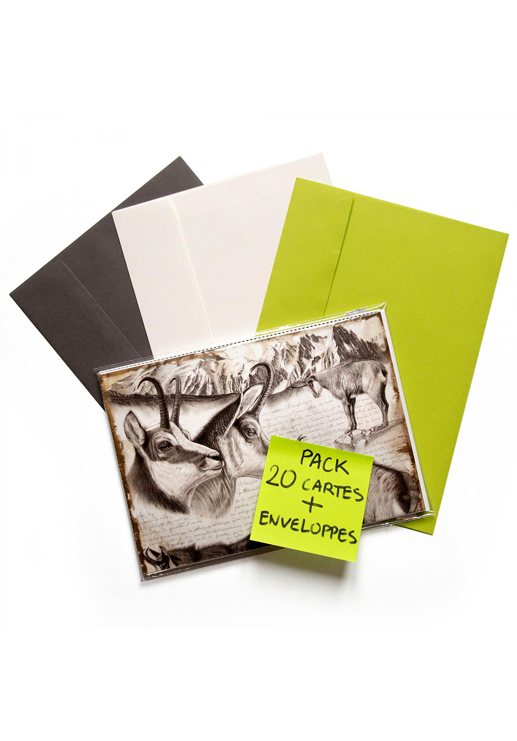 Marcello-art: Wish Card 20 cards + envelopes